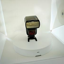 Eksempel på opstilling til 360 graders foto